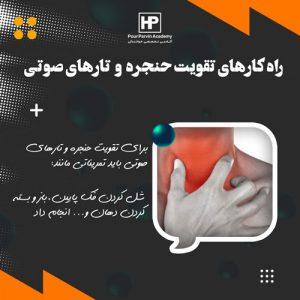 Read more about the article راه کارهای تقویت حنجره و تارهای صوتی برای خوانندگی